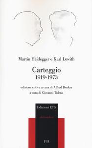 Carteggio 1919-1973