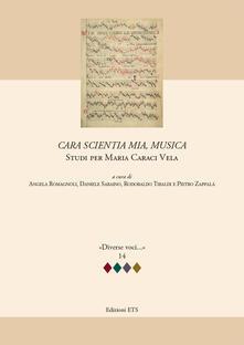 Daddyswing.es Cara scientia mia, musica. Studi per Maria Caraci Vela Image