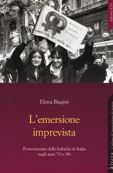 L' emersione imprevista. Il movimento delle lesbiche in Italia negli anni '70 e '80