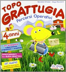 Promoartpalermo.it Topo Grattugia. Percorsi operativi. 4 anni-Coloro con Topo Grattugia. Per la Scuola materna Image
