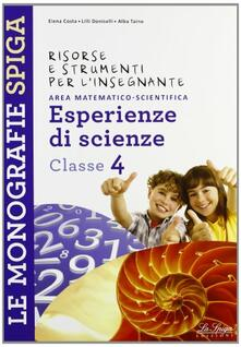 Voluntariadobaleares2014.es Risorse e strumenti per l'insegnante. Esperienze di scienze. Per la 4ª classe elementare Image