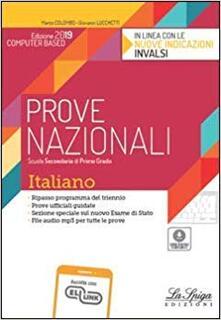 Steamcon.it Prove nazionali. Italiano. Prove Invalsi. Per la Scuola media Image