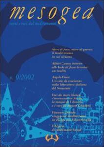 Mesogea. Segni e voci dal Mediterraneo (2002) vol. 0