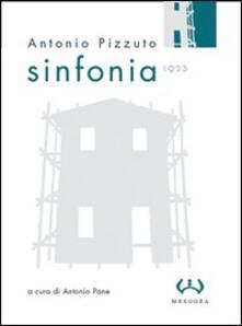 Sinfonia (1923) - Antonio Pizzuto - copertina