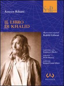 Il libro di Khalid - Ameen Rihani - copertina