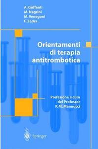 Orientamenti di terapia antitrombotica