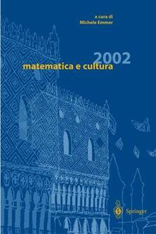 Matematica e cultura 2002 - copertina