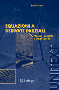Libro Equazioni a derivate parziali Sandro Salsa