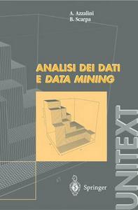 Libro Analisi dei dati e data mining Bruno Scarpa , Adelchi Azzalini