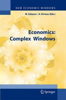 Economics. A Complex Windows - copertina