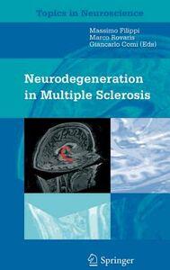 Foto Cover di Neurodegeneration in multiple sclerosis, Libro di  edito da Springer Verlag