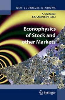 Econophysics of stock and other markets - copertina