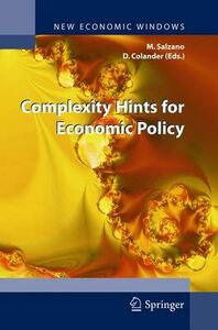 Foto Cover di Complexity hints for economic policy, Libro di  edito da Springer Verlag