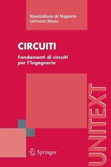 Librisulrazzismo.it Circuiti. Fondamenti di circuiti per l'ingegneria Image