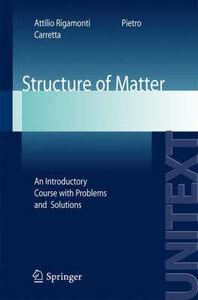 Libro Structure of matter Attilio Rigamonti , Pietro Carretta