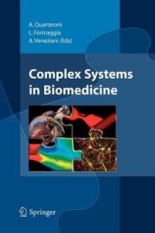 Complex systems in biomedicine - A. Quarteroni,L. Formaggia,A. Veneziani - copertina