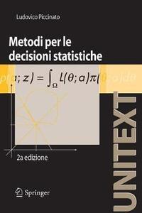Metodi per le decisioni statistiche