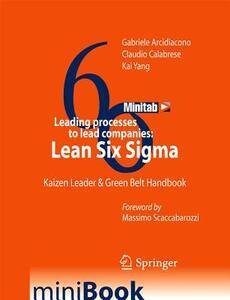 Leading processes to lead companies. Lean six sigma. Kaizen leader & green belt handbook