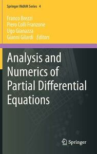 Libro Analysis and numerics of partial differential equations