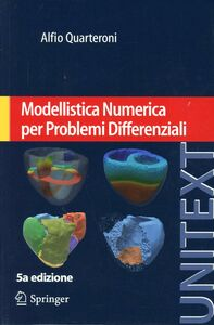 Libro Modellistica numerica per problemi differenziali Alfio Quarteroni