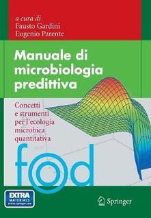 Nicocaradonna.it Manuale di microbiologia predittiva. Concetti e strumenti nell'ecologia microbica quantitativa Image