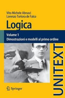 Radiospeed.it Logica. Vol. 1: Dimostrazioni e modelli al primo ordine. Image