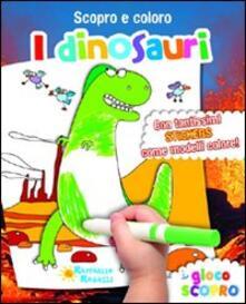Antondemarirreguera.es I dinosauri. Scopro e coloro. Con adesivi Image