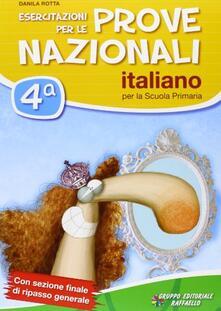 Esercitazioni per le prove nazionali di italiano. Con materiali per il docente. Per la 4ª classe elementare.pdf