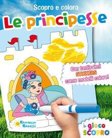 Camfeed.it Le principesse. Scopro e coloro. Con adesivi Image