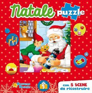 Foto Cover di Natale puzzle, Libro di  edito da Raffaello