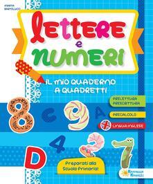 Tegliowinterrun.it Lettere e numeri. Il mio quaderno Image