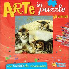 Gli animali. Arte in puzzle. Libro puzzle. Ediz. illustrata.pdf