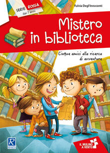 Librisulladiversita.it Mistero in biblioteca. Cinque amici alla ricerca di avventure Image