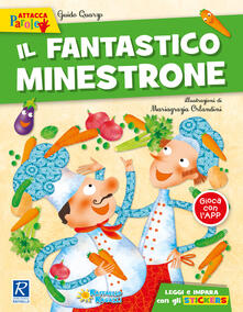 Camfeed.it Il fantastico minestrone. Con adesivi Image