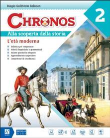 Chronos. Per la Scuola media. Con e-book. Con espansione online. Con Libro: Competenze. Con DVD-ROM. Vol. 2 - Biagio Goldstein Bolocan - copertina