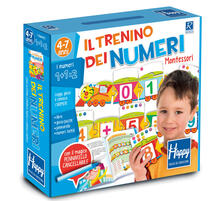 Chievoveronavalpo.it Il trenino dei numeri Montessori. Happy. Ediz. illustrata. Con gadget Image