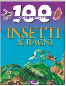 Foto Cover di Insetti & ragni, Libro di Steve Parker, edito da Edicart