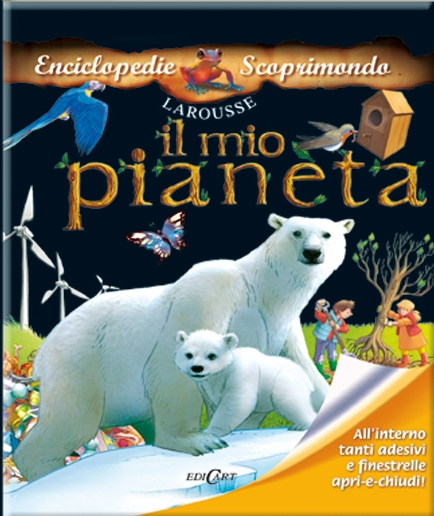 Il mio pianeta. Con adesivi