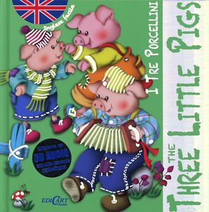 Libro I tre porcellini-The three little pigs. Inglese facile. Con CD Audio Marifé González
