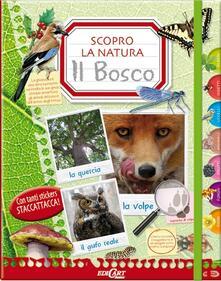 Milanospringparade.it Il bosco. Scopro la natura. Con adesivi. Ediz. illustrata Image