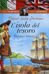 Libro L' isola del tesoro-Treasure island Robert L. Stevenson