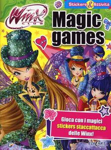 Libro Magic games. Winx club. Con adesivi. Con aggiornamento online Iginio Straffi