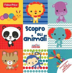 Foto Cover di Scopro gli animali, Libro di  edito da Edicart