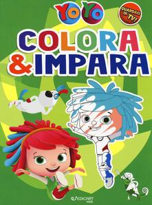 Colora & impara. YoYo. Ediz. a colori.pdf
