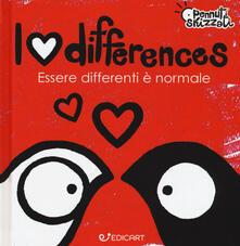 Parcoarenas.it I love differences. Essere differenti è normale. Pennuti skizzati. Ediz. a colori Image