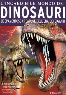 L' incredibile mondo dei dinosauri - copertina