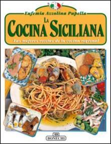 La cucina siciliana. Ediz. spagnola