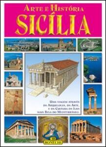 Arte e storia della Sicilia. Ediz. portoghese