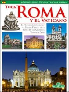 Tutta Roma e il Vaticano. Ediz. spagnola