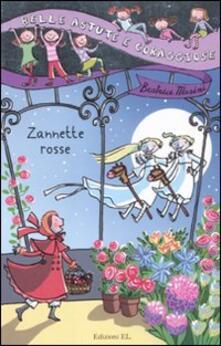 Zannette rosse - Beatrice Masini - copertina